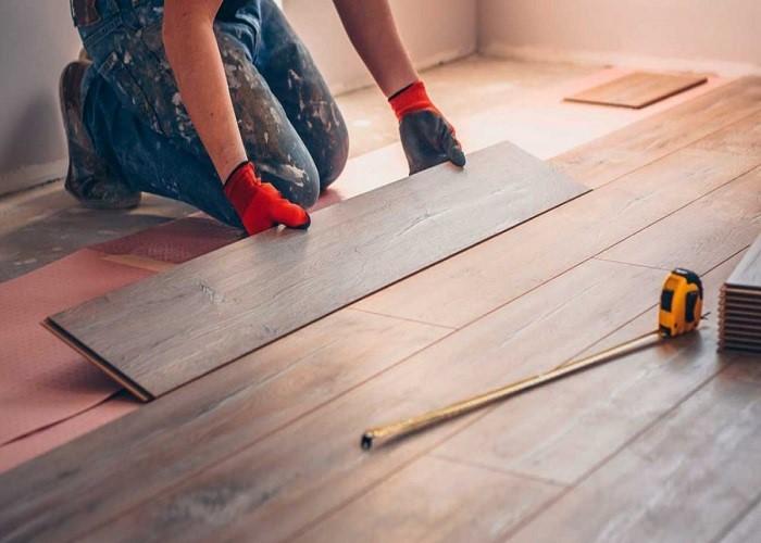 تعویض وسایل در بازسازی خانه