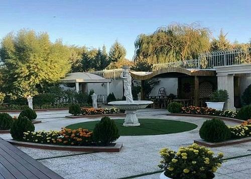 بازسازی باغ و ویلا