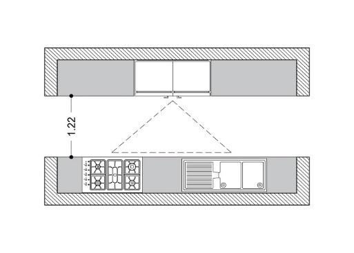 طراحی فضای آشپزخانه
