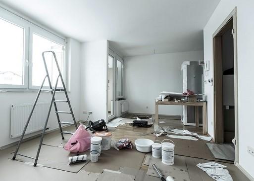 اجرای بازسازی خانه