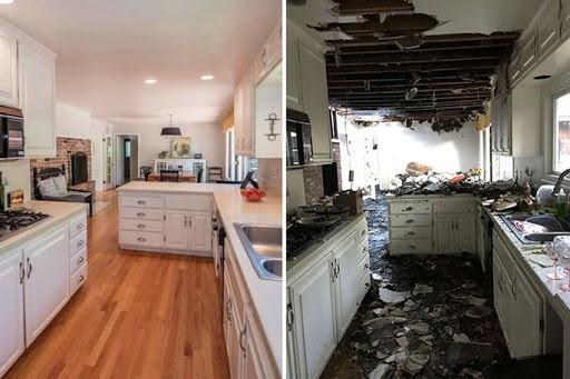 قبل و بعد بازسازی خانه قدیمی
