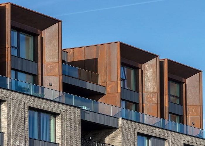 طراحی و اجرای نمای ترکیبی ساختمان