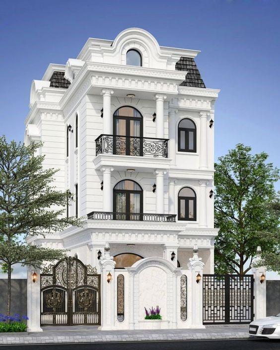 طراحی نمای لوکس ساختمان
