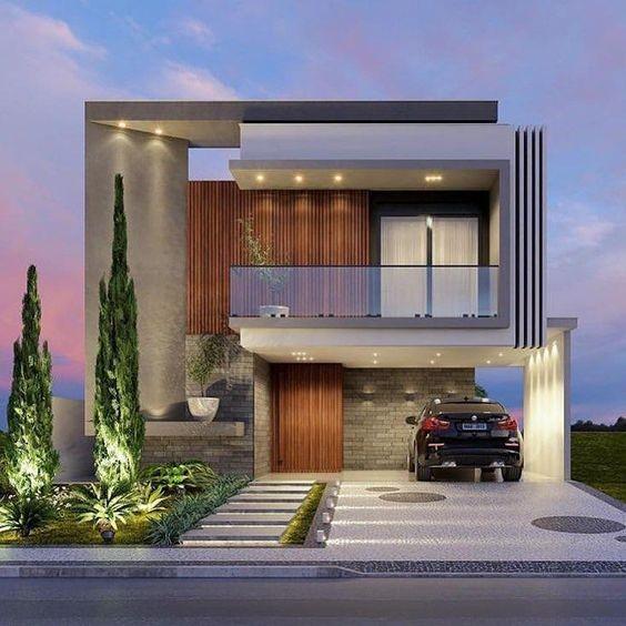 طراحی نمای لاکچری ساختمان