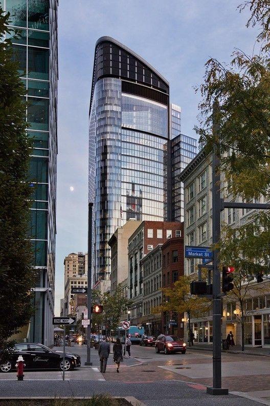 اجرای نمای ساختمان تجاری کرتین وال