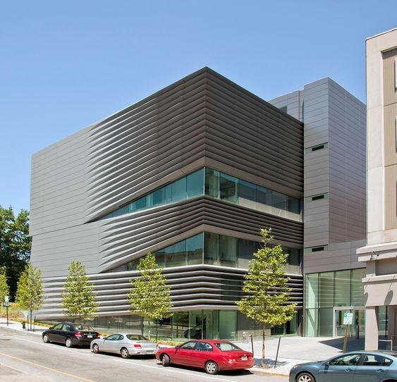 نمای تجاری کامپوزیتی ساختمان