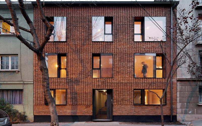 طراحی و اجرای نمای ساختمان مسکونی