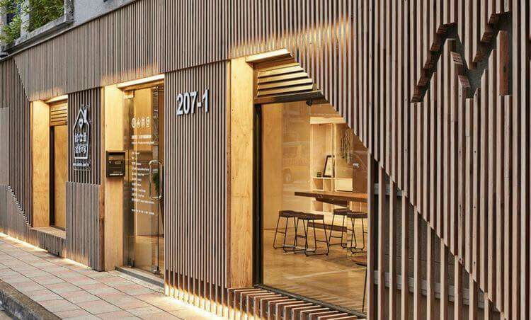 طراحی و اجرای نمای مغازه