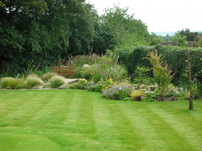طراحی باغ