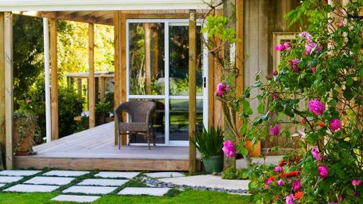 طراحی خانه باغ کوچک