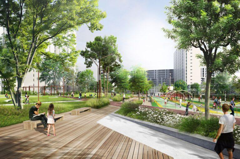 طراحی فضای باز شهری