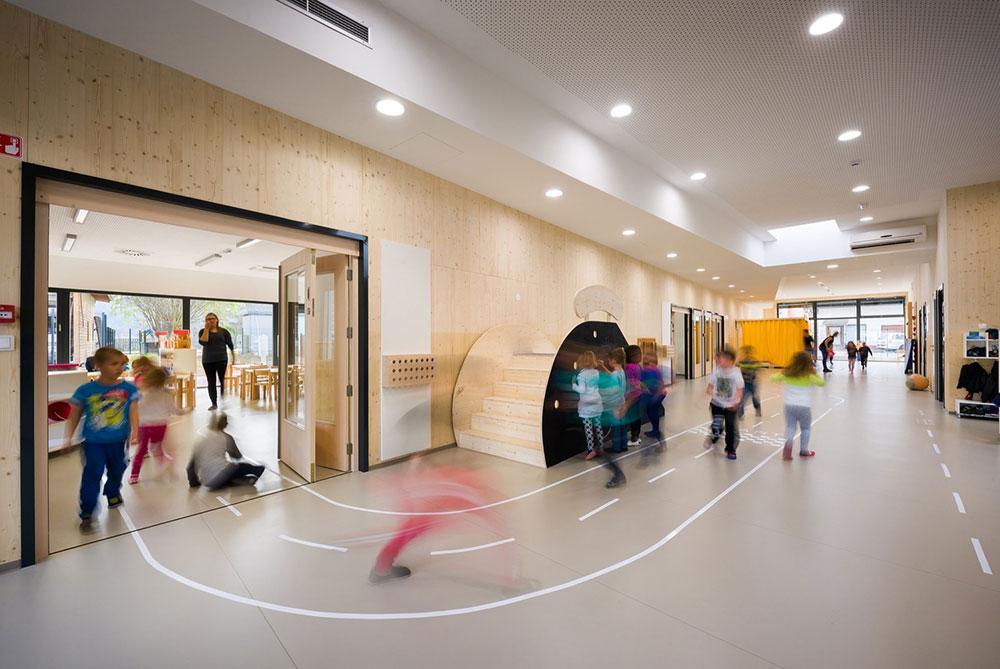 طراحی فضای باز مدارس